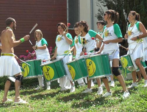 Chaude ambiance brésilienne à la maison de retraite Claudine Echernier